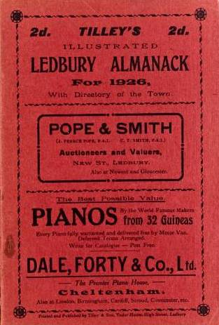 [1926 Tilleys Almanack]