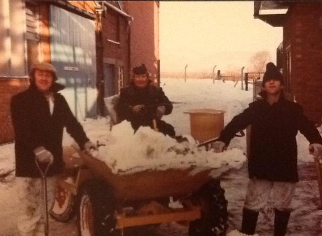 [Snow Clearing 1981]