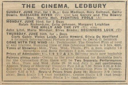 [Ledbury Cinema 1953]