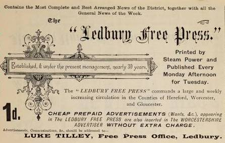 [Ledbury Free Press Newspaper]